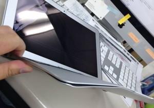 いかれたMacBookAir