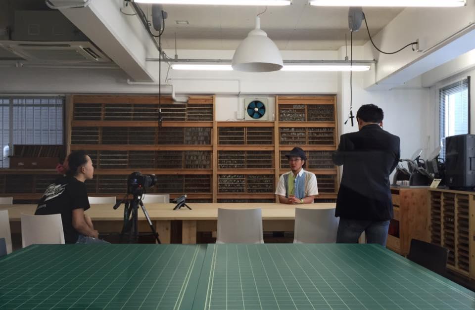 弊社のプロモーションビデオの撮影
