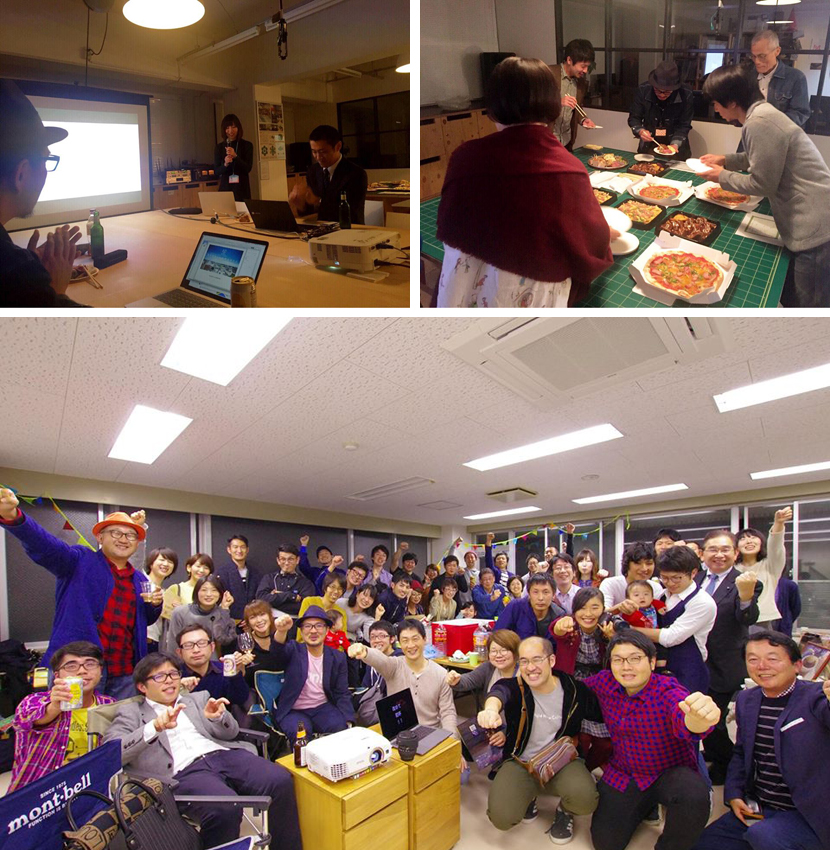 【インクブログ】co-lab墨田亀沢の第5回プレゼン会→Kazamidori(クリエイティブ公民館)のオープニングパーティへ・・・