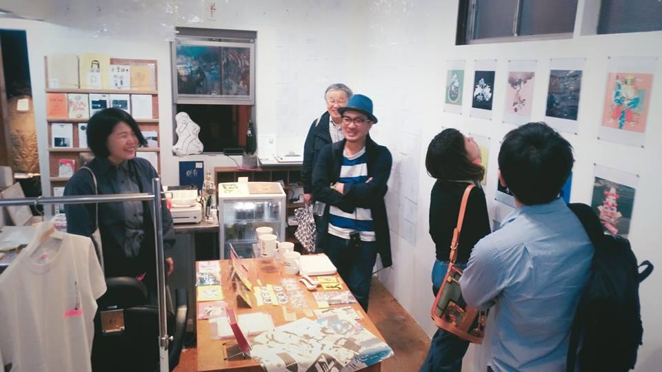 【インクブログ】サイトウアケミさんの個展「KAKATO UP!」東京巡回展へGO!