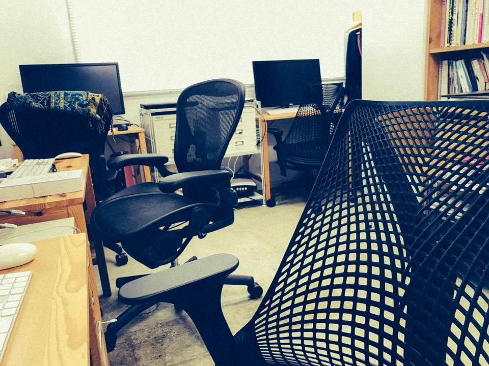 【インクブログ】静かなインクデザインのオフィス。。。