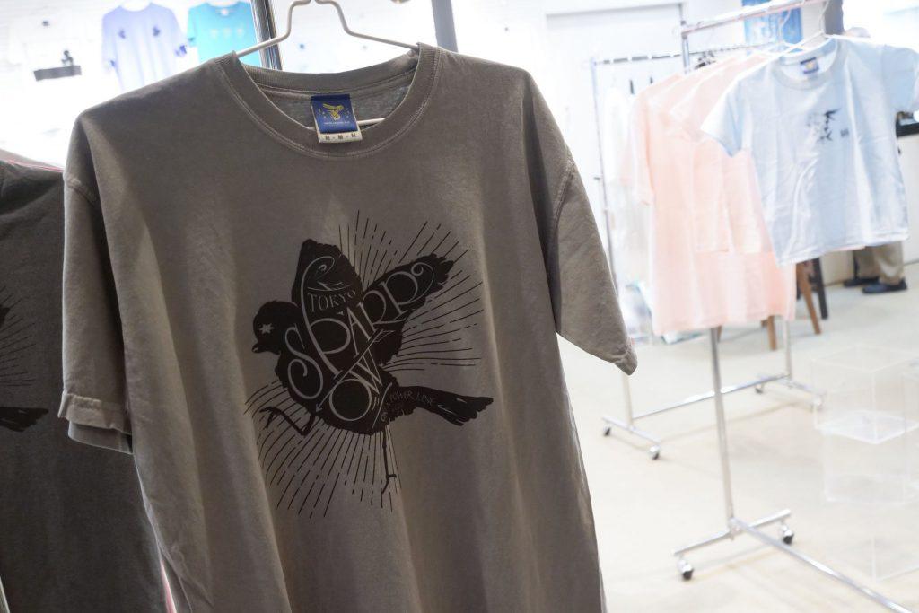 【インクブログ】Tシャツ展始まっています。